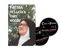 "2 DVDs and book ""Fatima in Lucia's own words"""