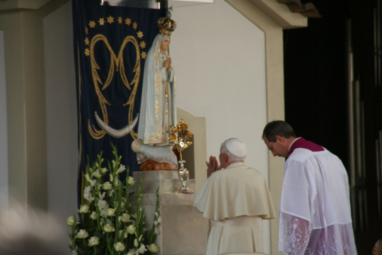 Pope's visit to Fatima Shrine 12th May 2010
