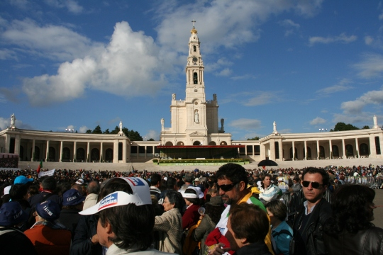 Pope's visit to Fatima  May 2010