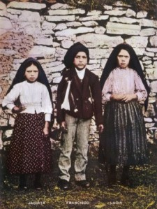 three little shepherds of Fatima 1917