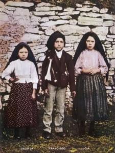 three little shepherds of Fatima 1917