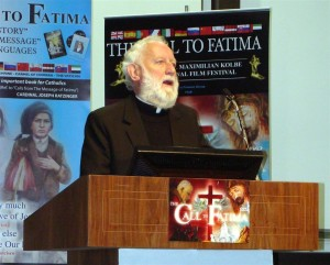 Father Michael Maher, narrator in The Call to Fatima film www.thecalltofatima.com