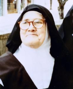 Sister Lucia dos Santos at the Carmel Monastery in Coimbra