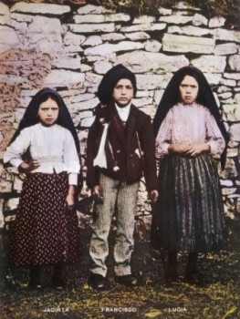 3 children of Fatima Jacinta Francisco Lucia www.thecalltofatima.com