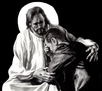 Jesus listens to you at the confession