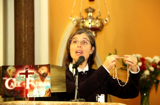 Sr Angela Coelho talks about the importance of the Rosary