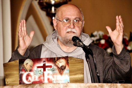 Fr Andrew Apostoli inspirational talk about the Message of Fatima for today