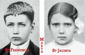 Saint Francisco and Jacinta Marto