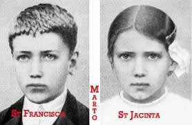 Saint Francisco and Jacinta Marto